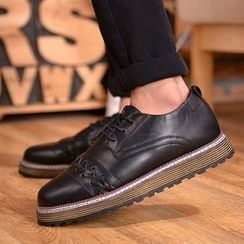 Chariot - 厚底系带休闲鞋
