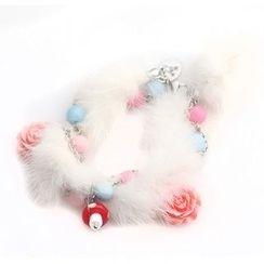 MIPENNA - White Snow Deer Bracelet