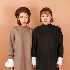 Seoul Fashion - Mock Two-Piece Dress