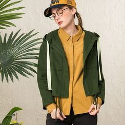 Qiuke - 連帽夾克