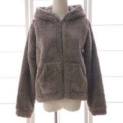 Reine - Fleece Lined Hooded Jacket