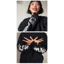 Cerauno - Printed Sweatshirt