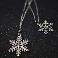 HEDGY - Snowflake Necklace