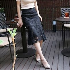 Picapica - Laced Midi Skirt