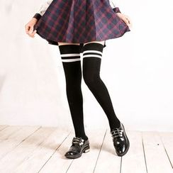 Abarana - Striped Long Socks