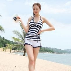 Tamtam Beach - Striped Tankini Set