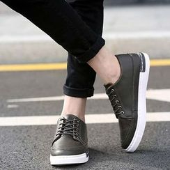 NOVO - Faux Leather Casual Shoes