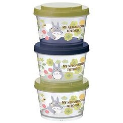 Skater - My Neighbor Totoro Food Container Set (240ml) (3 Pieces)