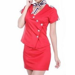Cosgirl - Uniform Party Costume