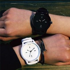InShop Watches - Contrast-Color Strap Watch