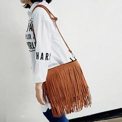 TZ - Fringe Shoulder Bag