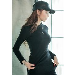 REDOPIN - Round-Neck Fleece-Lined Top