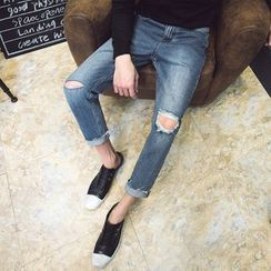Flambeau - Ripped Slim Fit Jeans