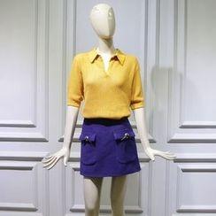 JOYIST - 針織上衣 / 短裙