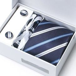 Xin Club - Striped Neck Tie Gift Set