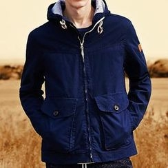 WOOD SOON - Plain Hooded Coat