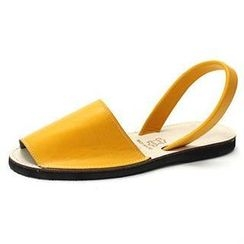 MODELSIS - Colored Sling-Back Sandals