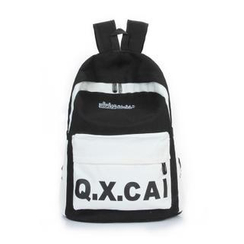 Crystal - Lettering Canvas Backpack