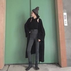Bloombloom - Woolen Long Coat
