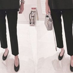 DAILY LOOK - Drawstring-Waist Dress Pants