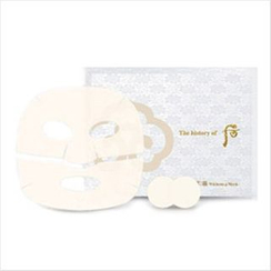 The History of Whoo - Gongjinhyang Seol Whitening Mask (Mask 8pcs + Patch 8pcs)
