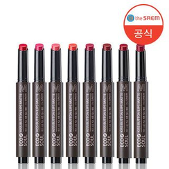 The Saem - Eco Soul KISS Button Lips Matte (#06 Bitter Chocolate)