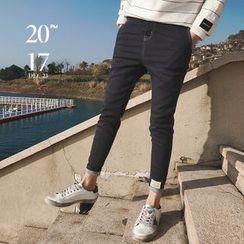 Jimboy - Plain Tapered Jeans