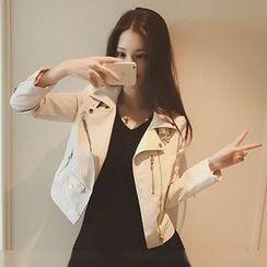 Velero - Faux Leather Jacket