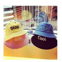 JUN.LEE - Lettering Bucket Hat