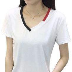 Sonnet Isle - Short-Sleeve V-Neck T-Shirt