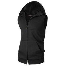 Aozora - Hooded Zip Vest
