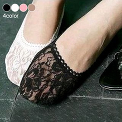 Magic Beauty - Lace No Show Socks