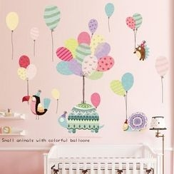LESIGN - Kids Balloon Print Wall Sticker