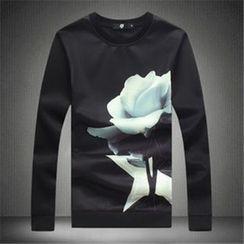 Alvicio - Floral Print Pullover