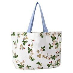 Aoba - Floral Shopper Bag