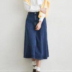 Sienne - Denim Long Skirt