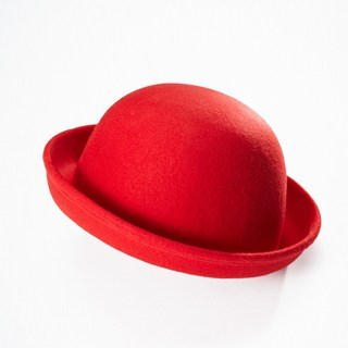 Moonbasa - Wool Bowler Hat