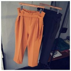 Glovon - Plain Harem Trousers