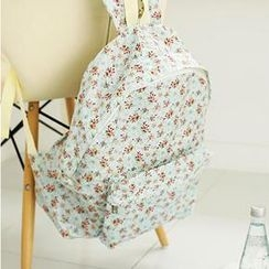 Bongjashop - Floral Print Backpack