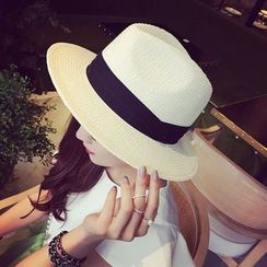 SHUMI - 稻草礼帽