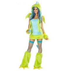 Cosgirl - Halloween Dinosaur Party Costume