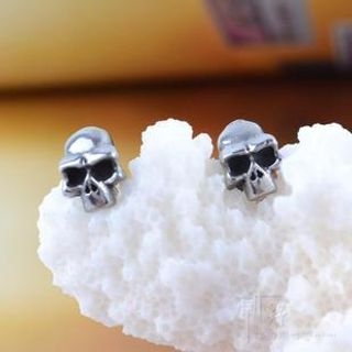 Trend Cool - Skull Stud Earrings