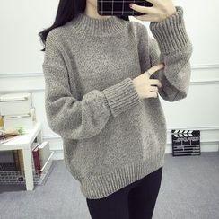Emeline - 高领厚毛衣