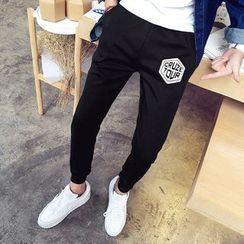 百高 - 印花哈伦裤
