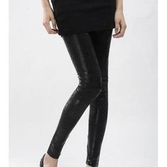 Kleggings - Snakeskin Print Leggings