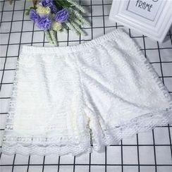 Big Cat - Lace Boy Shorts