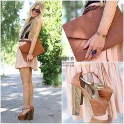 LIVA GIRL - Chiffon A-Line Skirt