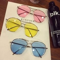 SOCOOL - 圆形太阳眼镜