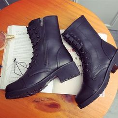 Micha - Lace-Up Short Boots