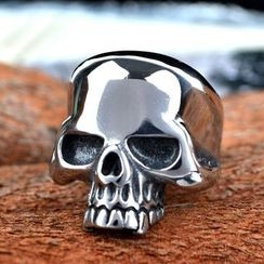 潮野 - 骷髏頭戒指